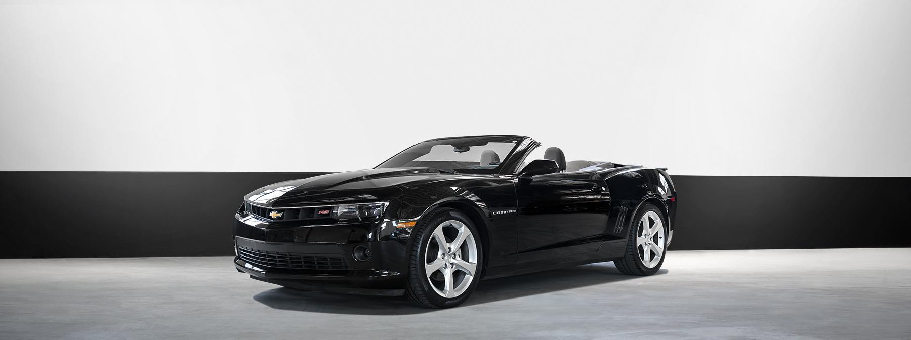 Rent a Chevrolet Camaro in Los Angeles