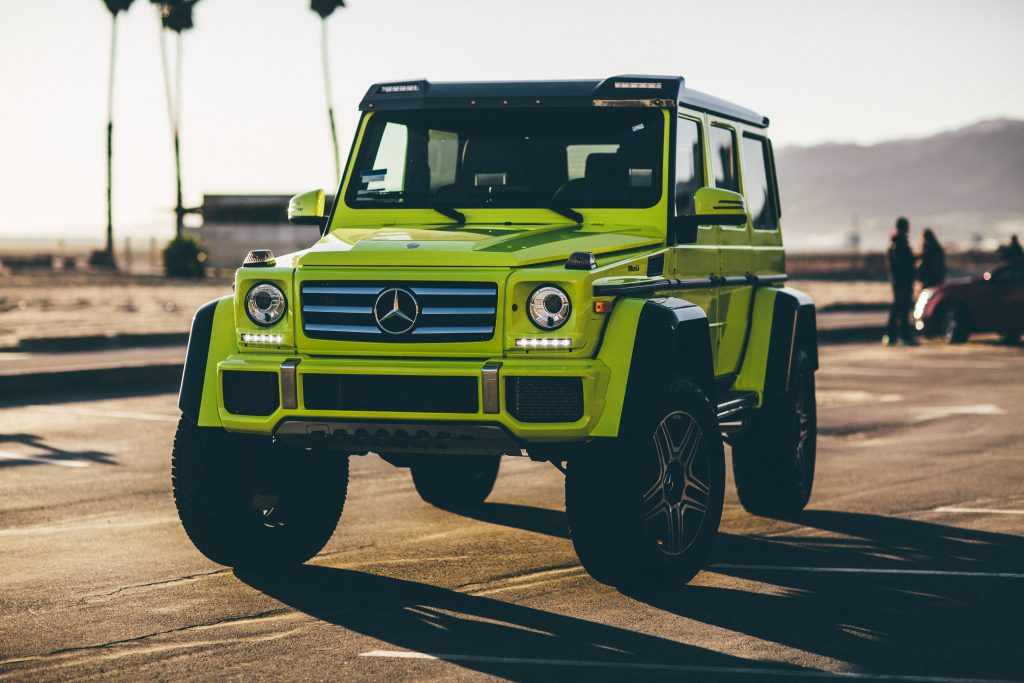 Mercedes Benz G Wagon Car Rental in Los Angeles