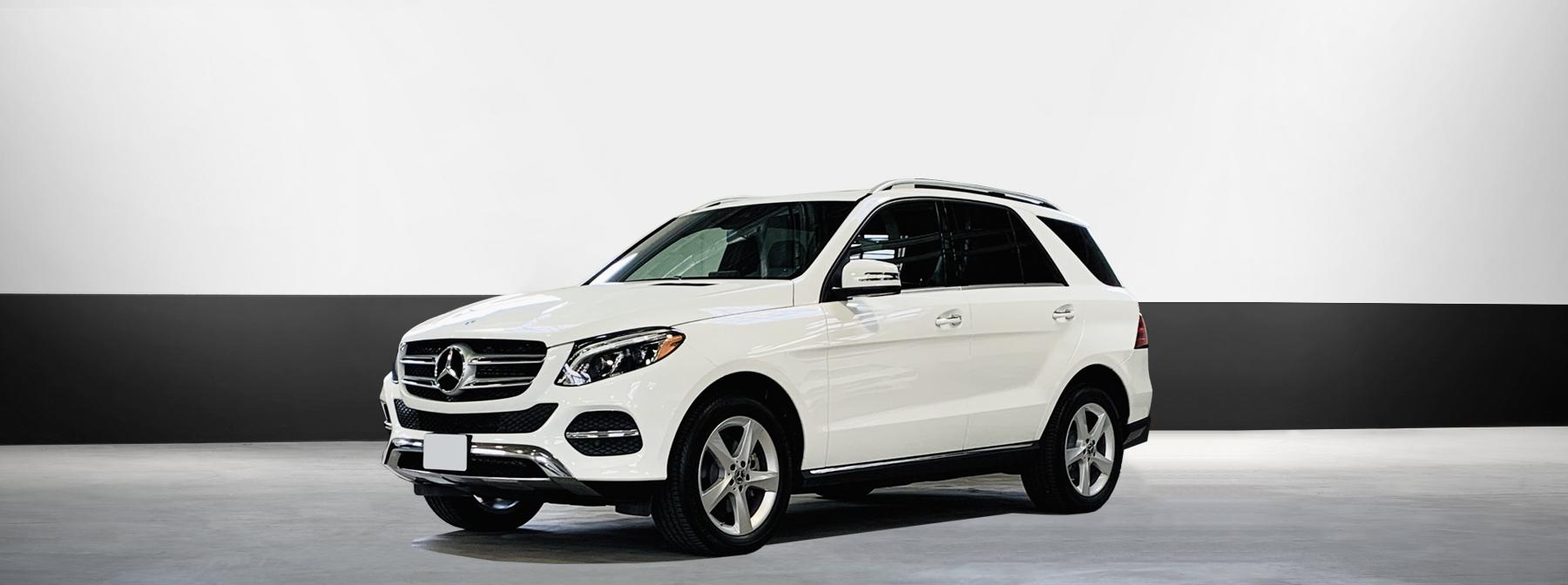 Mercedes suv rental GLE 350 in white
