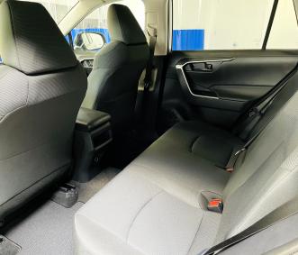 toyota rental back seat