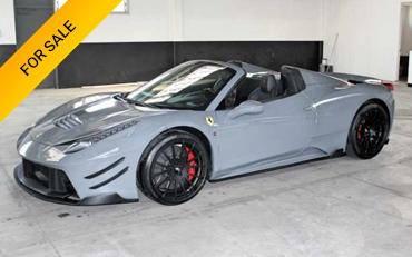 Ferrari rental san francisco