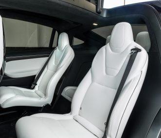 tesla electric car rental x1000d back row