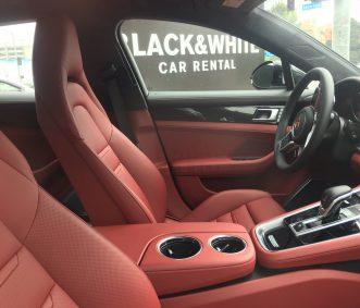 Porsche Panamera Interior LA