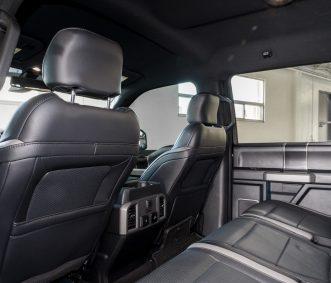 Ford Raptor Los Angeles Backseat