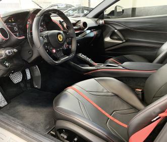 Ferrari exotic car rental 812 Superfast front row