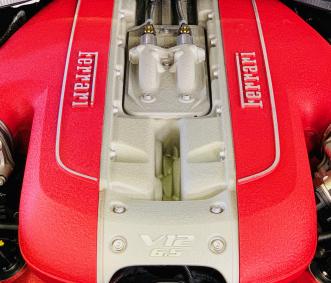 Ferrari exotic car rental V12 engine