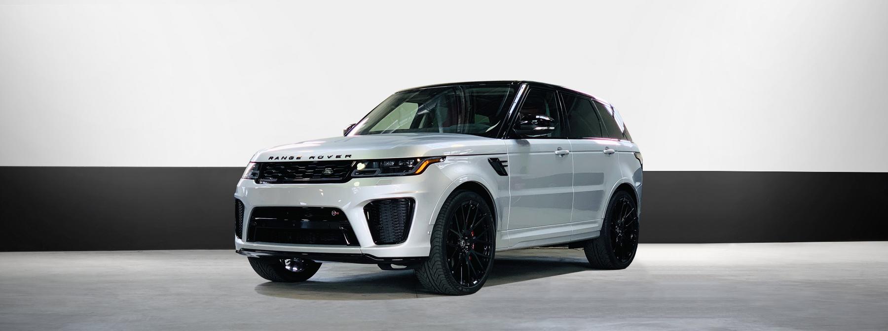 range rover luxury suv rental in silver