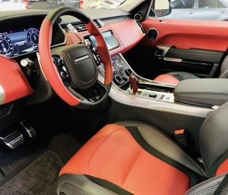 range rover luxury suv rental front row