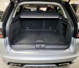 range rover luxury suv rental trunk