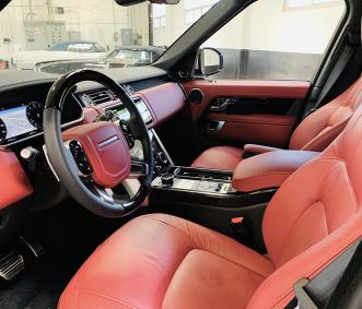 range rover luxury car rental front row