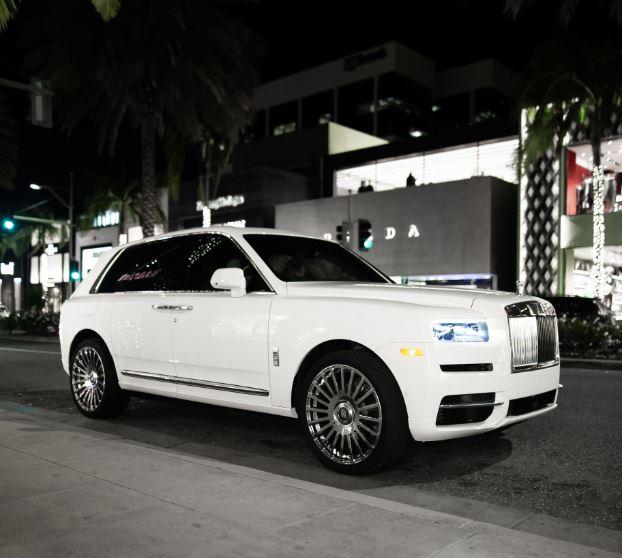 Rolls Royce Cullinan For Rent In San Francisco, Los