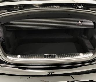 mercedes convertible rental s560 trunk