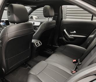 Mercedes exotic car Rental A220 interior back row