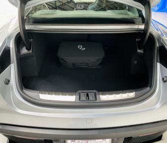 Porsche rental Taycan trunk