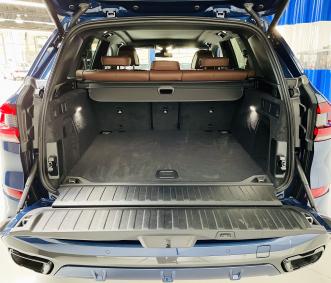 bmw rental trunk