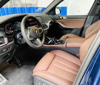 bmw rental front seat