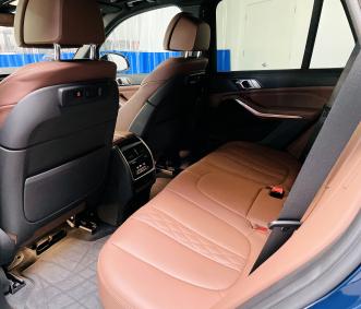 bmw rental back seat