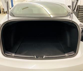Tesla rental trunk